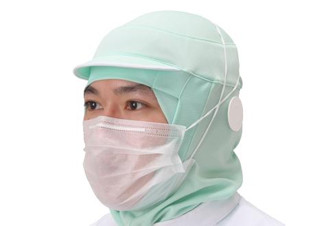 ロングマスク着用イメージ